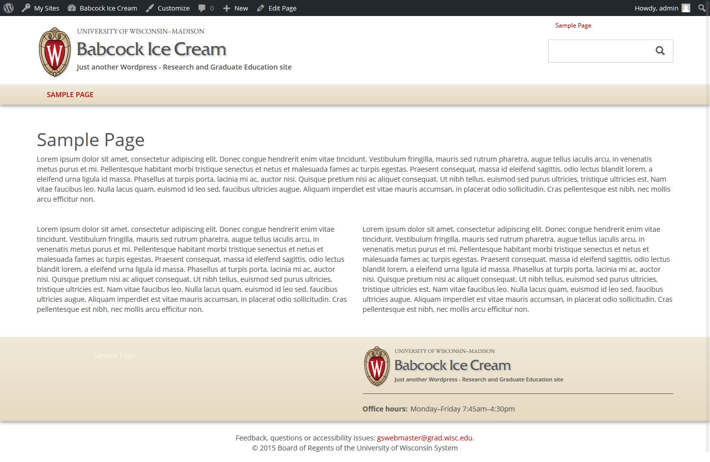 babcock ice cream